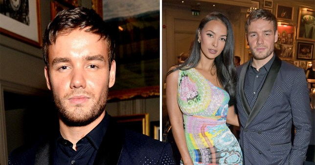 Liam Payne with Maya Jama at GQ private dinner