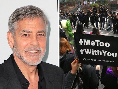 George Clooney wants to be 'part of the solution' after #MeToo movement