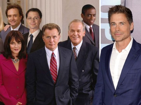 Rob Lowe would do The West Wing reunion 'in a minute' and so would the rest of the cast