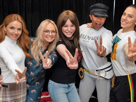 Spice Girls fan given 'strength to fight' cancer as she meets idols backstage on world tour