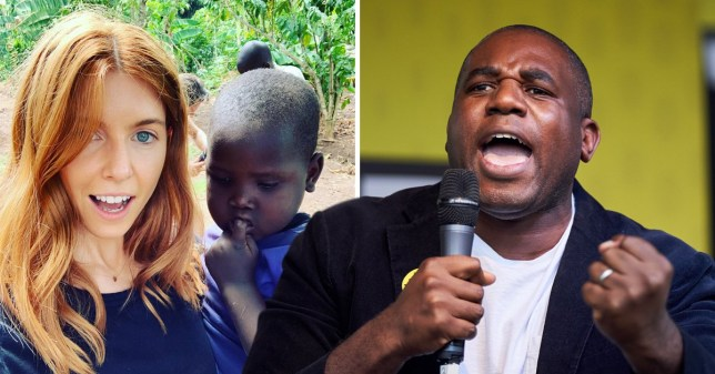 Stacey Dooley and David Lammy had a public disagreement about her work in Uganda (Picture: sjdooley/Instagram / REX )