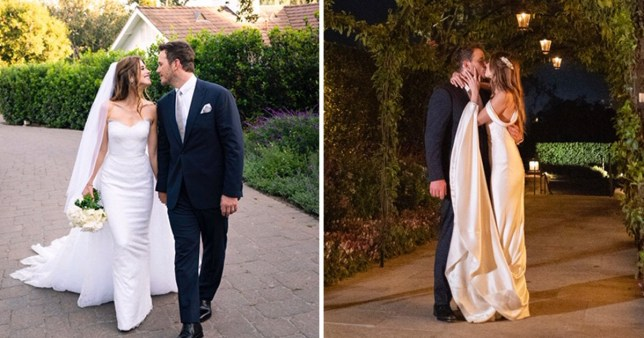 Katherine Schwarzenegger and Chris Pratt wedding