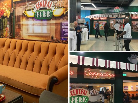 Grab your pals, the Friends-themed cafe is now open in a Manchester Primark