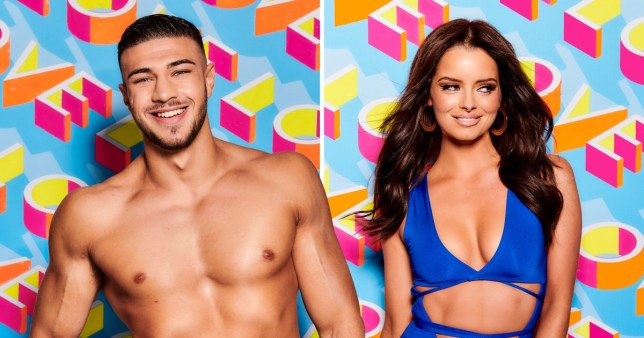 Tommy Fury and Maura Higgins on Love Island