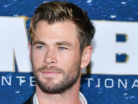 After one too many belly rubs Chris Hemsworth knows what it's like to be pregnant