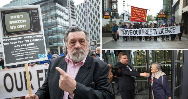 Ricky Tomlinson branded politicians a 'blood shower of hypocrites' (