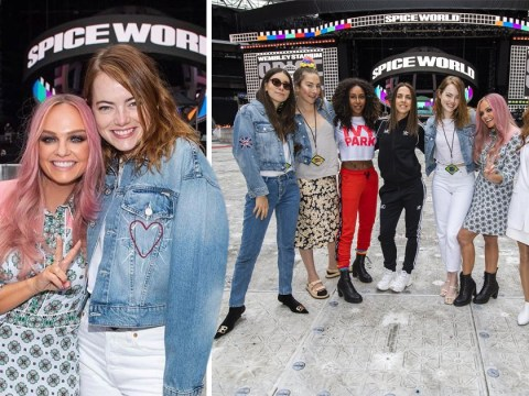 Emma Stone finally meets the Spice Girls after years of being a fan
