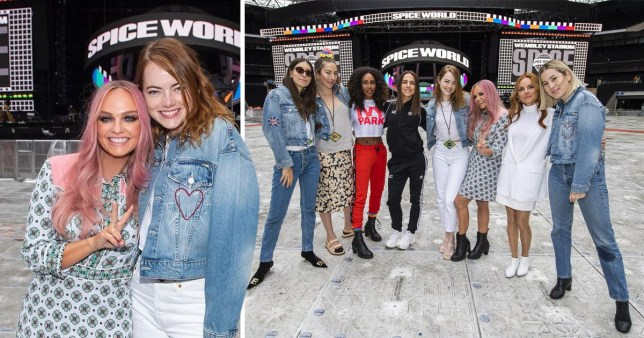 Emma Stone meets the Spice Girls