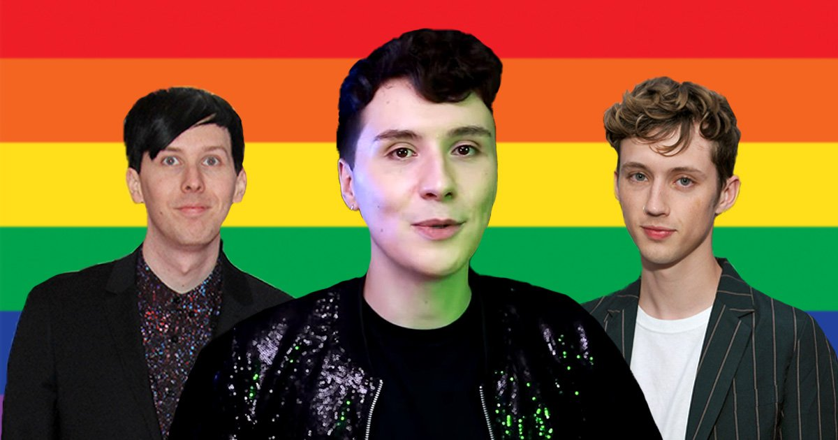 YouTuber Dan Howell comes out and friends Phil Lester and Troye Sivan share a love