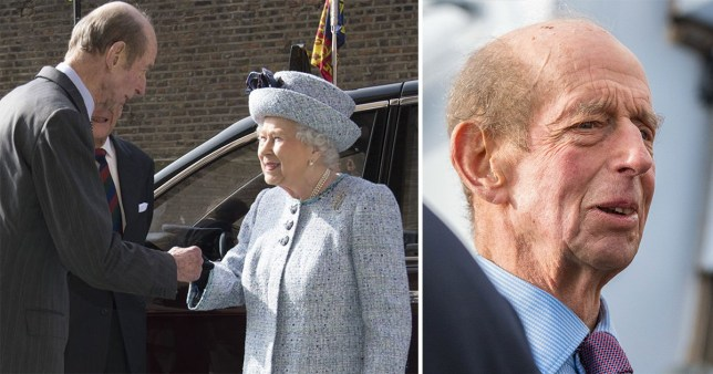 The Queen's cousin, the Duke of Kent, has been involved in a car crash in Sussex