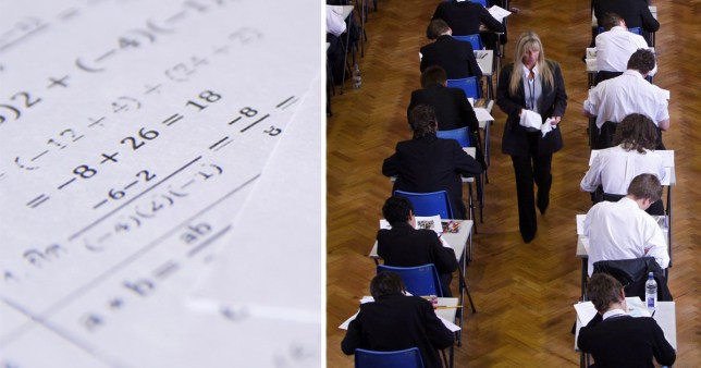 A Level exam