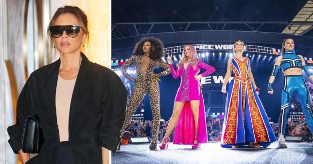 64cdc4d73 Victoria Beckham and Spice Girls Emma Bunton, Mel B, Mel C, Geri Horner