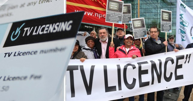 A petiton against the decision to scrap free TV licences is gaining traction