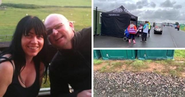 David Smith described the campervan area as 'unacceptable' (Picture: David Smith)