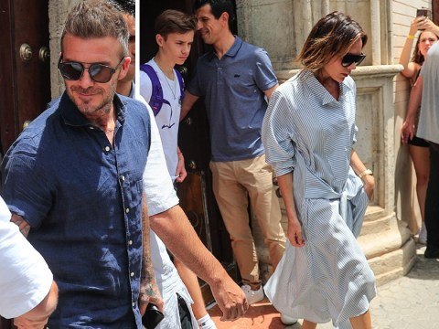 Victoria Beckham enjoys trip to Spain as Spice Girls poke fun at her reunion tour absence