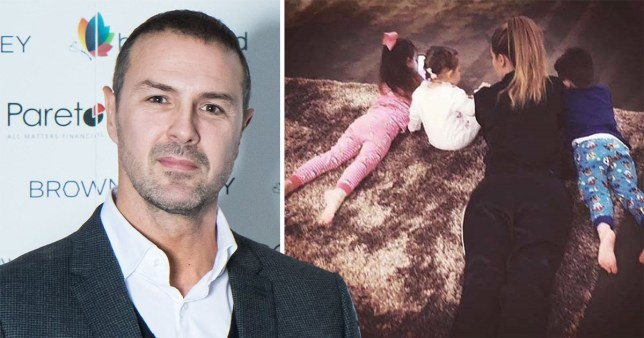 Paddy McGuinness, with wife Christine McGuinness, and children Penelope, Leo and Felicity