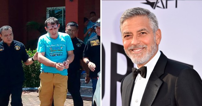 Scammer Francesco Galdeli who pretended to be George Clooney arrested after years on the run