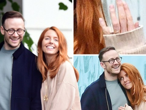 Stacey Dooley wears gold band on ring finger on very romantic outing with Kevin Clifton