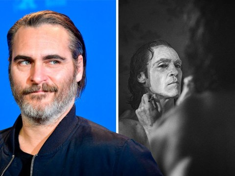 Joker confirmed for gritty R-rating as Joaquin Phoenix paints his face in creepy new look