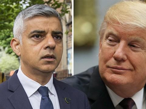 Sadiq Khan calls Donald Trump a poster boy for the far-right
