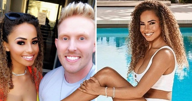 Love Island's Amber Gill received a 'barrage of death