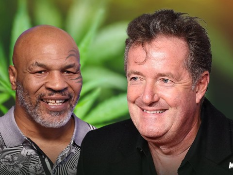 Piers Morgan has only taken drugs once and it was with Mike Tyson