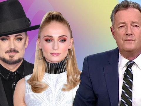 Piers Morgan rubbishes idea of Game Of Thrones' Sophie Turner playing Boy George in biopic