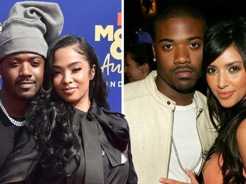 Ray J's wife is not impressed as MTV Awards host cracks joke about Kim Kardashian sex tape