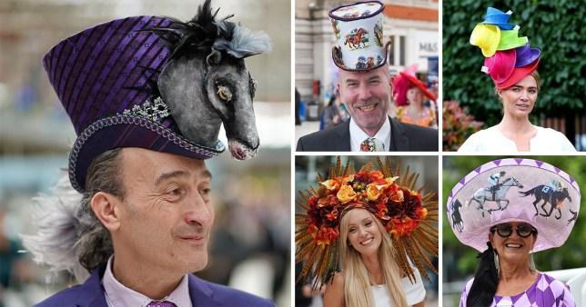 A selection of Royal Ascot Hats