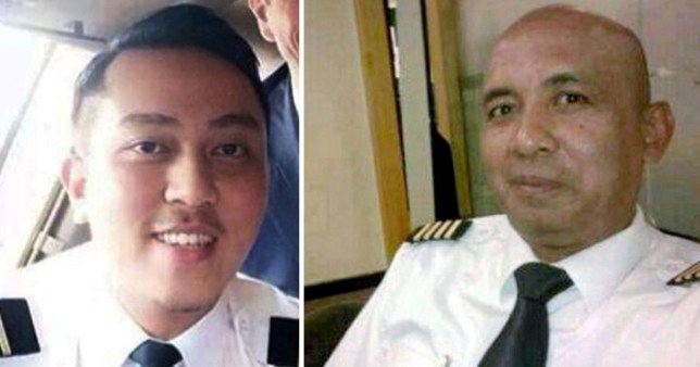 A fellow pilot says that the mental state of Captain Shah, right, may have been a contributing factor to the disappearance of MH370