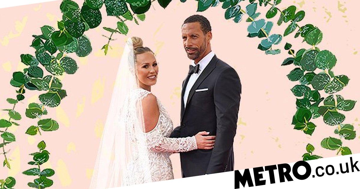 Kate Wright worried she'll be bridezilla ahead of Rio Ferdinand