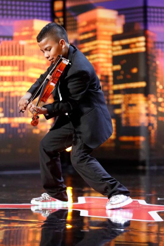 Tyler Butler-Figueroa on America's Got Talent