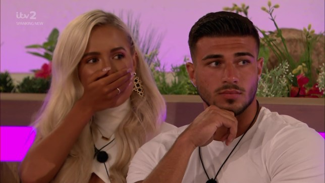 Love Island's Tommy Fury and Molly-Mae