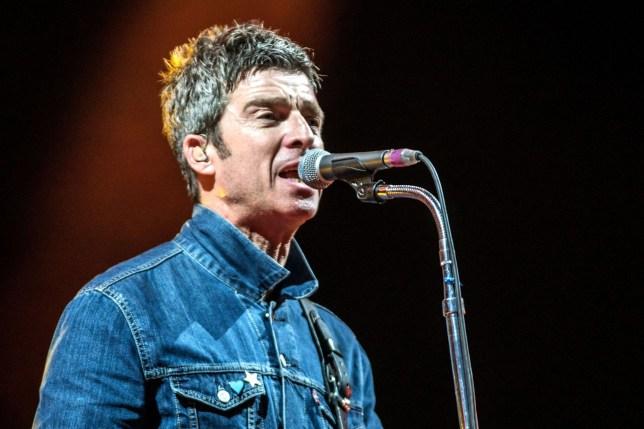 Noel Gallagher's High Flying Birds at Bingley Music Live Festival, Myrtle Park