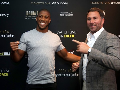 Eddie Hearn disagrees with Andy Ruiz Jr. over Anthony Joshua comments