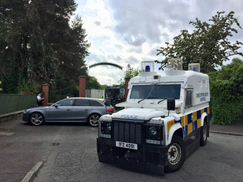 Police say 'violent dissident republicans' planted bomb under officer's car in Belfast