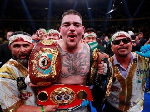 Andy Ruiz claims Anthony Joshua rematch will happen in America not Saudi Arabia where he 'has no protection'