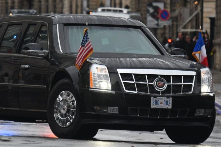 Inside The Beast – Donald Trump's high tech car 'defeated by