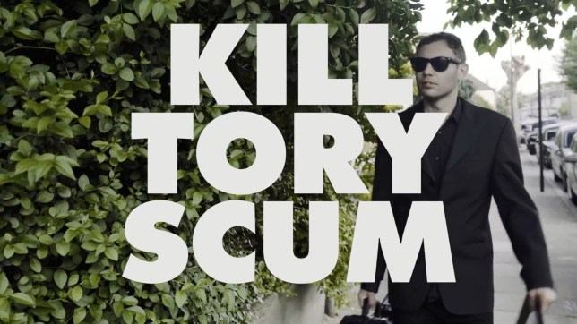 Killdren have been dropped from Glastonbury because of the song (Picture: YouTube)