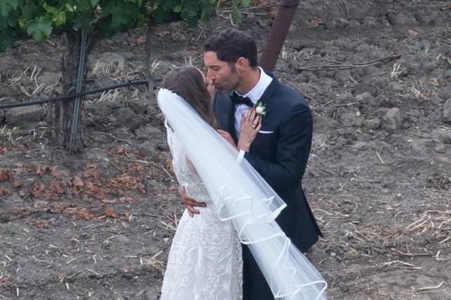Lucifer Tom Ellis Wedding Pictures As He Marries Meaghan Oppenheimer Metro News