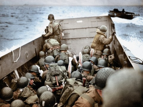 Only a quarter of D-Day veterans spoke about the invasion