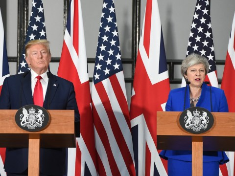 Donald Trump and Theresa May praise 'special relationship' after day at Downing Street