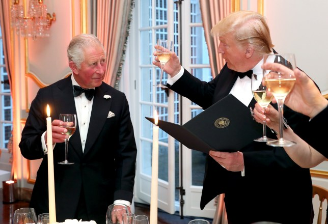 Prince Charles challenged the US President on his views of climate change during a state visit this week