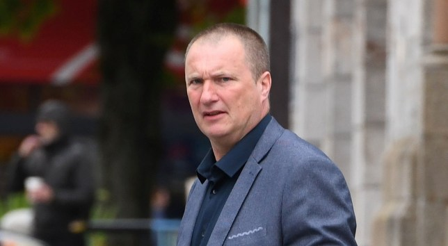 Landlord Paul Potter pictured arriving at court. See SWNS story SWPLcreep. A creepy landlord put a secret camera in a bathroom to film a female tenant using the toilet and washing herself. The suspicious student was horrified to find the device and discover indecent images of herself, a court heard. Horrid Paul Potter, aged 52, now faces a possible jail sentence for planting the camera. The woman told Plymouth Crown Court in a statement: ?This was a horrible thing to happen to me.?