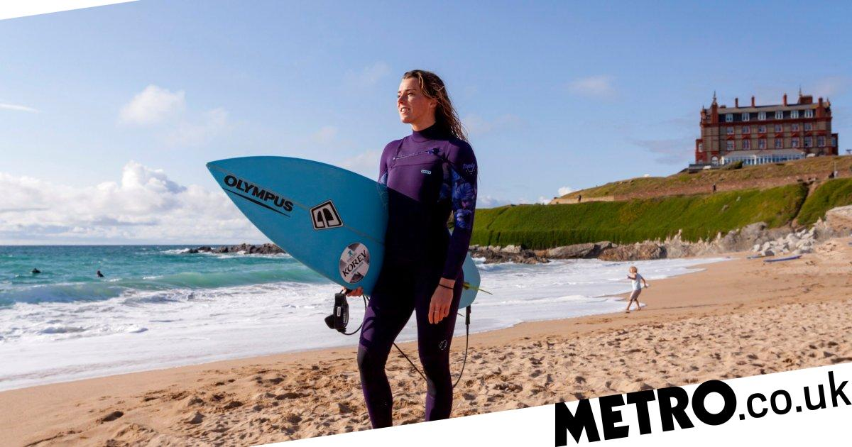 My Odd Job: What it's like to be a female professional surfer