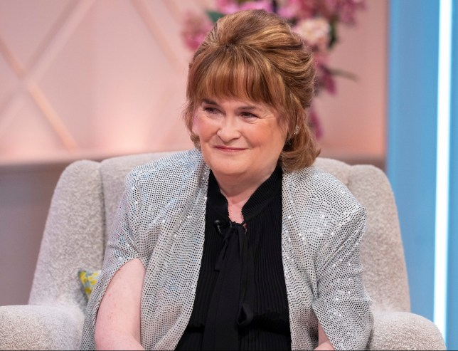 Susan Boyle reveals plans to start family at 58 as foster mother