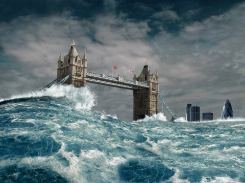 What will happen when the icecaps melt and sea levels rise?