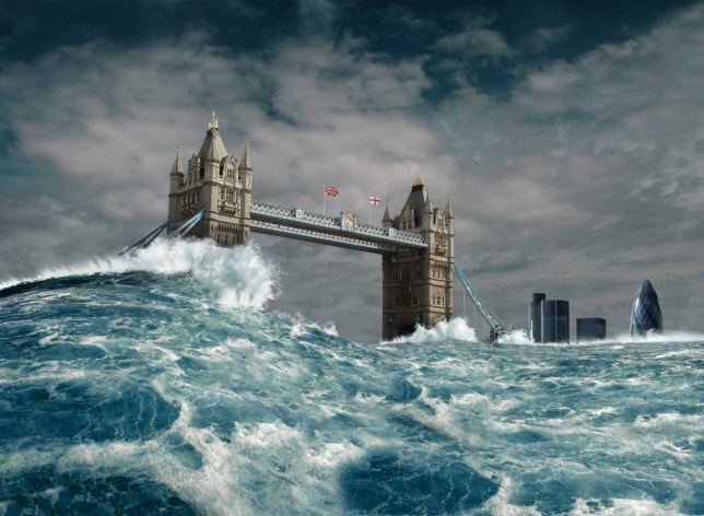 What will happen when the icecaps melt and sea levels rise