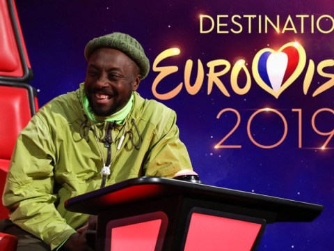Will.I.Am wants The Voice to decide who represents UK at Eurovision Song Contest