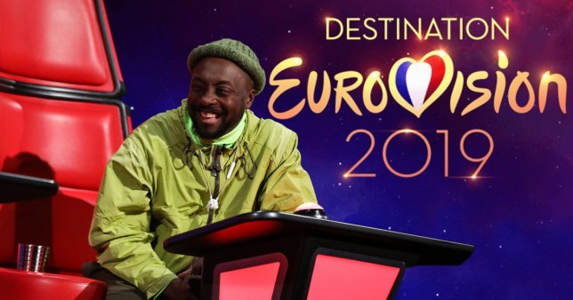 Will.i. am thinks The Voice's prize should be representing the UK at Eurovision
